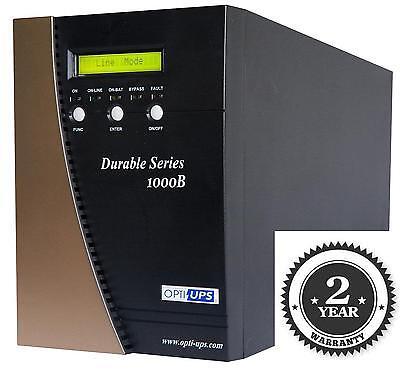 DURABLE DS1000B (1000VA/700W) Online Double Conversion Sinewave UPS 6 Outlets 700w Uninterruptible Power Supply