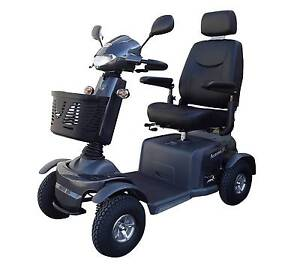 BRAND NEW Merits Aurora Large 4 Wheel Mobility Scooter GREY Wallaroo Mines Copper Coast Preview
