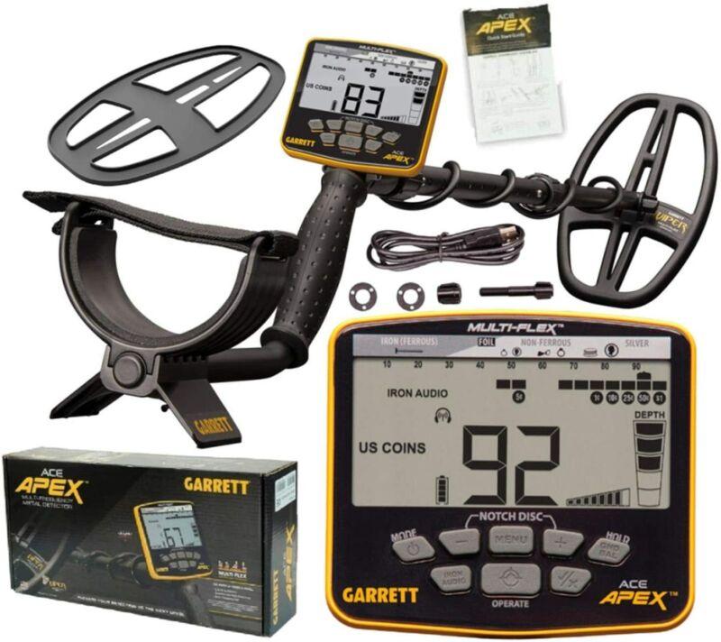 Garrett ACE APEX Metal Detector - Open Box