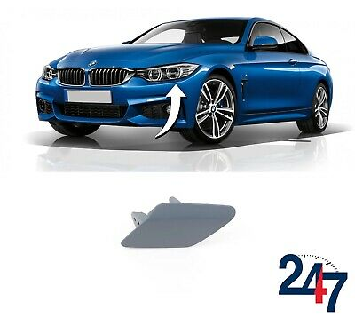 NEW OEM BMW F32 F33 F36 grand coupe LEFT HEADLIGHT WASHER COVER CAP ALL COLORS