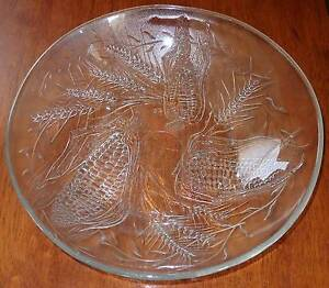 Large Duralex France Thanksgiving Corn Serving Salad Bowl Windsor Hawkesbury Area Preview