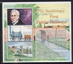 Lesotho-1230-Trains-Mint-NH