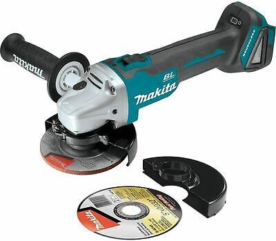 "Makita XAG04Z 18V LXT 4‑1/2"", 5"" Angle Grinder (Tool Only) - BRAND NEW !!"