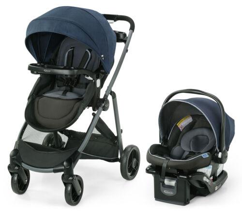 Graco Modes Element LX Travel System Stroller w SnugLock 35 LX Car Seat Lanier