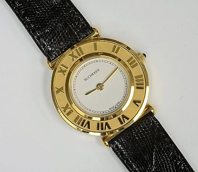 "Lady's Bucherer ""Les Romains""  Watch - Gold-filled, NOS"