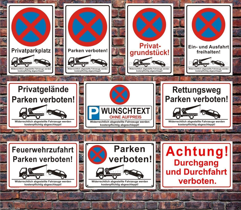 schild parken verboten parkverbotsschild parkplatz warn hinweis schilder eur 11 49 picclick de. Black Bedroom Furniture Sets. Home Design Ideas