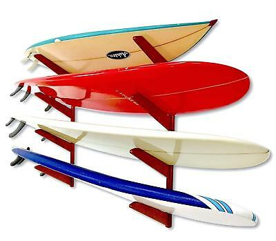 Timber Surfboard Wall Rack - Wood Home & Garage Surf -