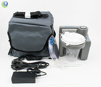 Medical Vet Dental Portable Suction Aspirator Vacuum Pump Unit Battery 7305p-d