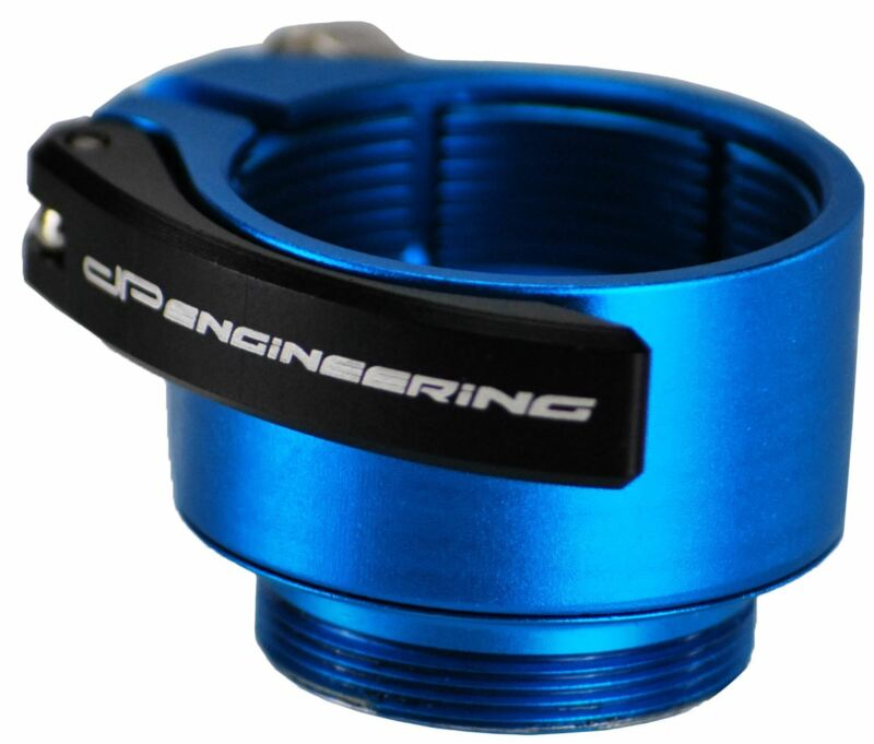 Dangerous Power DM Thread Clamping Feedneck - Turquoise