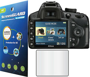 3x-Clear-LCD-Screen-Protector-Guard-Cover-Shield-Film-Nikon-Digital-SLR-D3200