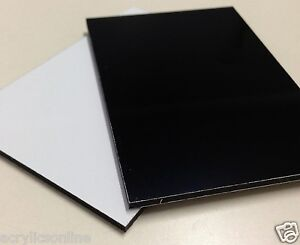 1220x2440x3mm Gloss White single sided Aluminium Composite Panel Special SALE