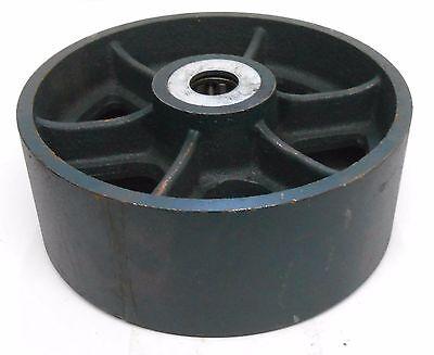 Unknown Brand Cast Iron Caster Wheel 8 Diameter 3 Width 1 Id