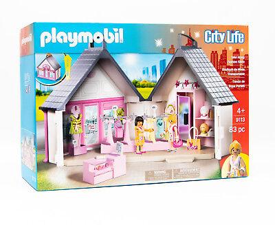 Playmobil 9113 - City Life  Take Along Fashion Store / Modegeschäft Aufklapp-Box