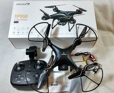 SNAPTAIN SP650 4-Axis Drone With 1080P Camera Photo/Video Spokeswoman Control - Used