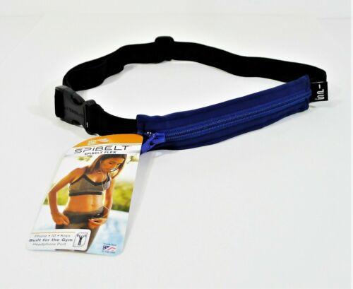 SpiBelt Flex Blue/Black Running Gym Belt - NEW WITH TAGS