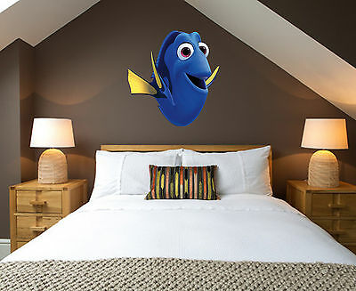 Disney Finding Nemo Wall - Dory Finding Nemo Dory Childrens Wall Stickers Vinyl Transfer 3 Sizes Disney