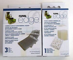 FLUVAL-EDGE-REPLACEMENT-BIOMAX-FOAM-CARBON-FILTER-SET