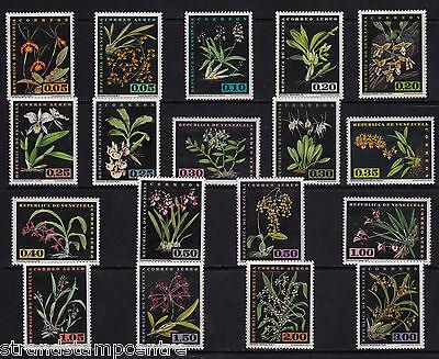 Venezuela - 1962 Orchids - U/M - SG 1713-30
