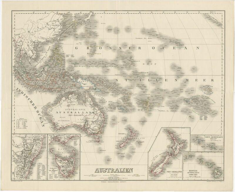 Australien - Kratz (1857)