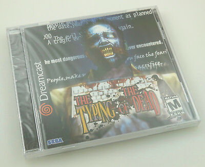 Sega Dreamcast   Typing Of The Dead   Brand New Factory Sealed