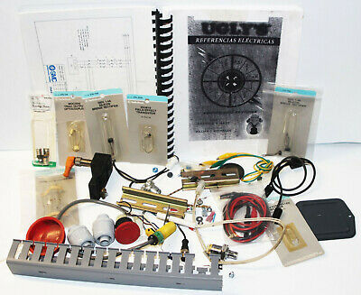 Lot Of Various Electrical Test Equipment Parts - Transistor Rectifier Leads