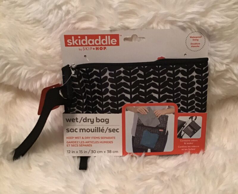 NEW SKIDADDLE Baby Wet/Dry Bag Pouch Storage Stroller Accessory Waterproof