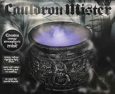 ister Mist/Smoke Fog Machine Colour changing Party Prop  (Halloween Mist)