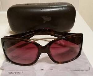 Oroton Scenic sunglasses tortoiseshell with brown lenses Alderley Brisbane North West Preview
