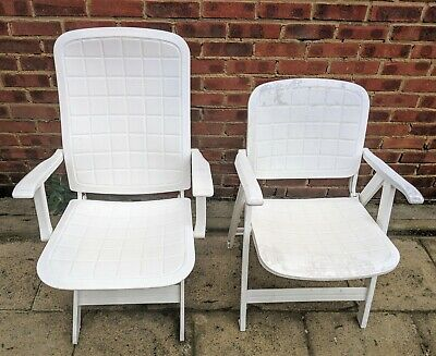 heavy duty adjustable garden chairs
