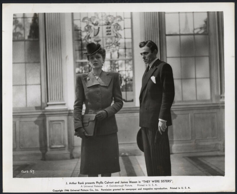 They Were Sisters '46 PHYLLIS CALVERT JAMES MASON GLOVES