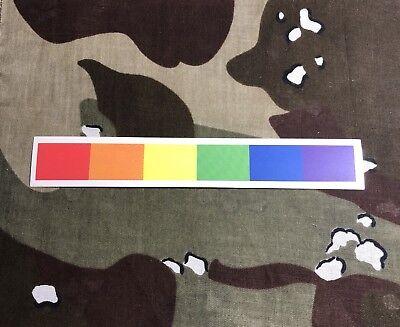 Rainbow Pride Strip Sticker R003S LGBTQ Civil - Pride Strip Sticker
