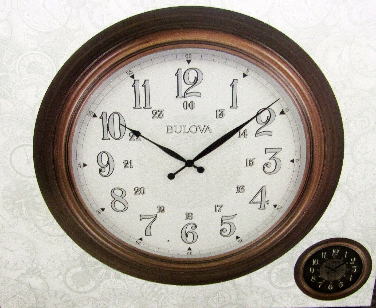 "BULOVA NEW INDOOR / OUTDOOR WALL CLOCK  ""KEY WEST""  C4852"