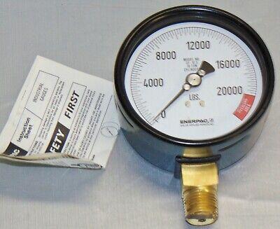 Enerpac 10000 Psi 20000 Lbs Gf10s Pressure Gauge Cylinder Quantity