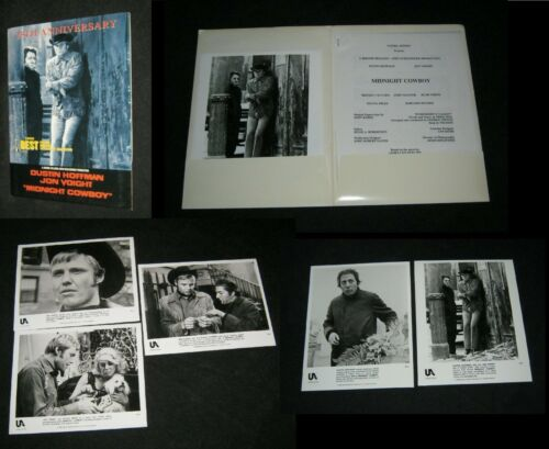 Original MIDNIGHT COWBOY Press Kit 5 Stills 30 Pages DUSTIN HOFFMAN JOHN VOIGHT