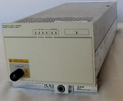 Hp Agilent Keysight 70311a Clock Source Module 16.1 Mhz To 3.3 Ghz Ref. 39160