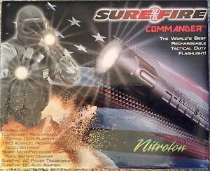 Surefire commander Tactical flashlight rechargeable flashlight