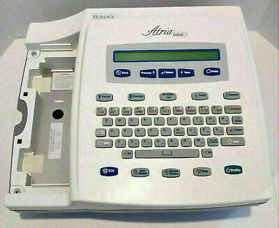 Burdick Atria 3000 Ecg Ekg Machine