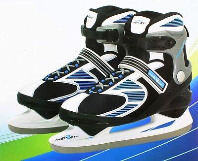 Sport Pro Schlittschuhe Skater Größe 42-43 Eis Kufenschutz Eishockey Iceskates ()