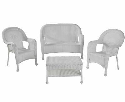 Garden Furniture - Garden Patio Furniture Outdoor Table Chairs Bench Set Faux Wicker Weatherproof