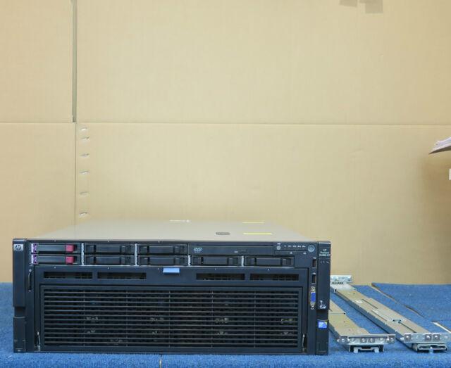 HP Proliant DL580 G7 4 x 8-Core XEON 1024GB(1TB) RAM 8 x 300Gb Rack Mount Server