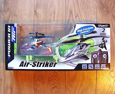 NEW Silverlit Air-Striker Remote Control Helicopter Toy Gift Present
