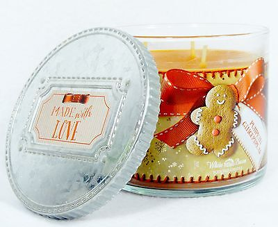 1 Bath Body Works PUMPKIN GINGERBREAD 3-Wick Filled Large Candle 14.5 oz