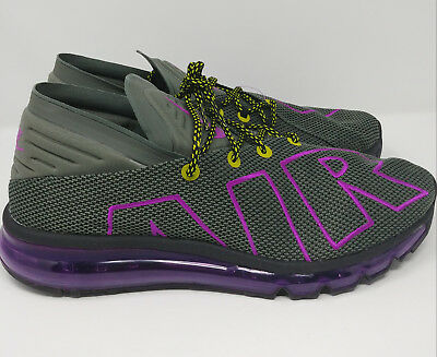958edf4c992 Nike Air Max Flair Up Tempo Running Shoes Men s Size 11 - AH9711-001- Gray  New