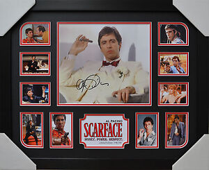 AL PACINO SCARFACE SIGNED AND FRAMED LIMITED EDITION