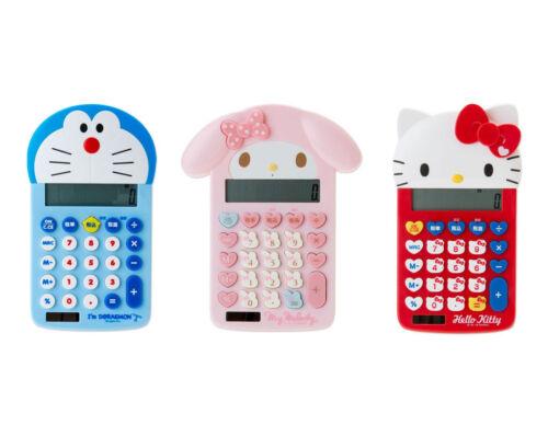 Japan Sanrio My Melody / Hello Kitty / Doraemon 12 Digit Calculator (Face)