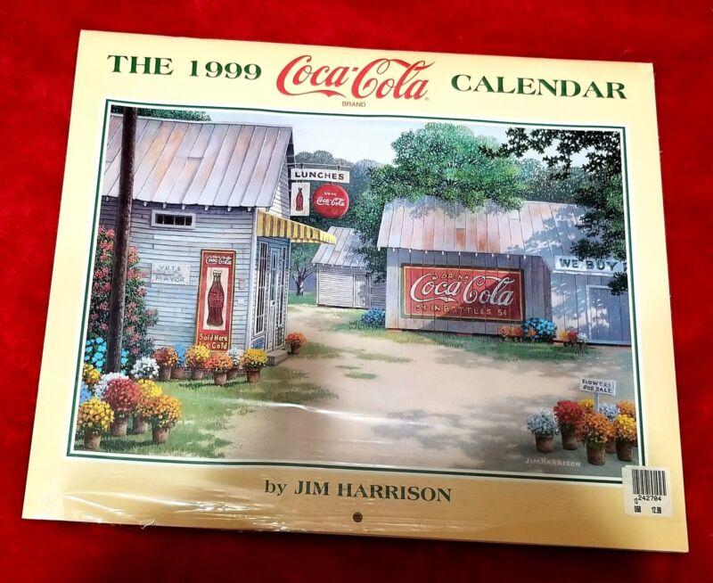 Coca-Cola 1999 Jim Harrison Calendar - NIP