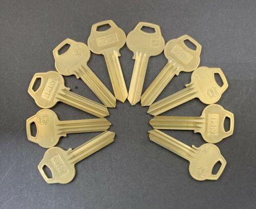 Lots of 2/5/10 A1012-H6 Type 6 Pin Key Blanks for Corbin Russwin H6 Keyway