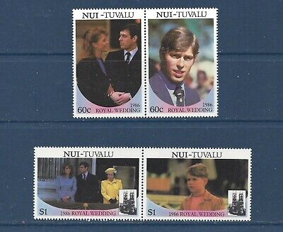 TUVALU - NUI - 63-64 -  MNH - 1986 - ROYAL WEDDING -