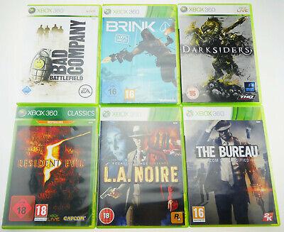Microsoft X-Box 360 Spiele Paket Bundle Sammlung   6 SPIELE Stück