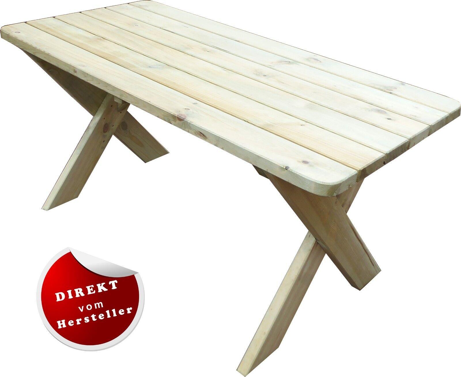 Gartentisch Holztisch Akazienholz Florabest